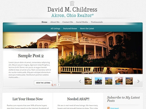 Live In Akron – Website Design