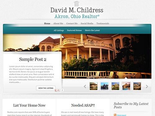 Live In Akron – Website Design