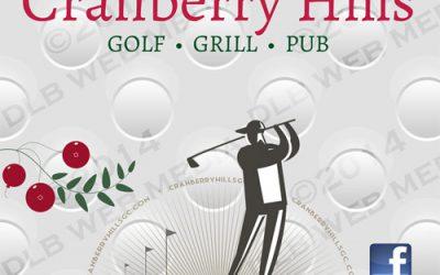 Cranberry Hills Golf Course – Print Design