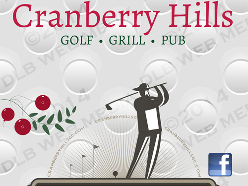Cranberry Hills Golf Course – Print Design