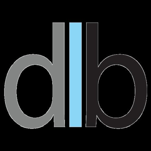 dlb logo akron web designs and branding