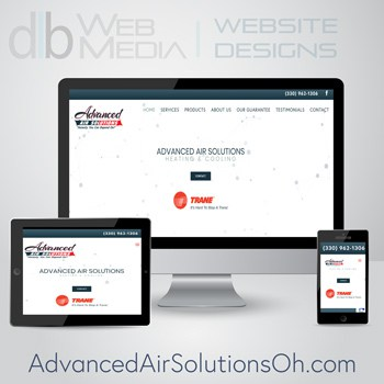 Advanced Air Solutions Web Design