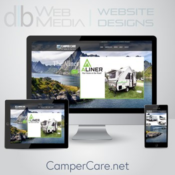 Camper Care Website Design