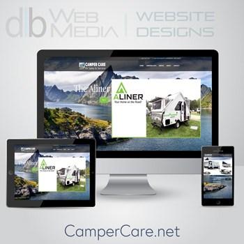 Camper Care Website Design